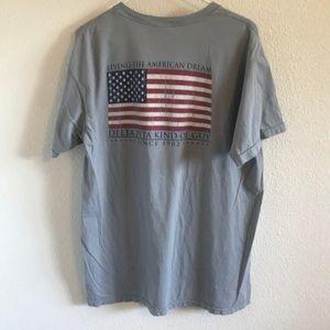DZ Delta Zeta comfort colors t-shirt